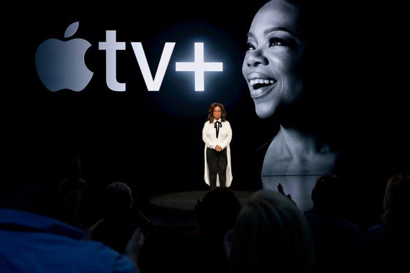 Apple TV+:n suuriin tähtiin lukeutuu muun muassa Oprah.