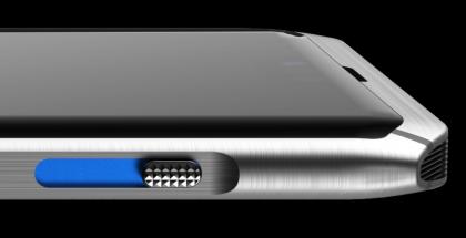 Centinel-puhelimeen suunniteltu yksityisyyskytkin löytyy puhelimen kyljeltä. Kytkin sulkee kaikki mahdolliset seurantatoiminnot laitteesta.