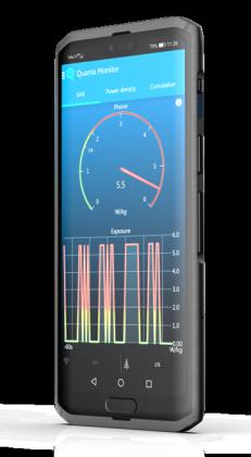 Centinel-puhelimeene on tulossa Cellraidin Quanta-ohjelmisto säteilyä rajoittamaan.