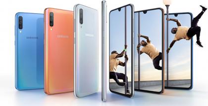 Nykyinen Samsung Galaxy A70.