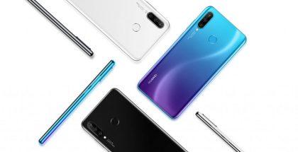 Huawei Nova 4e tulee kolmena eri värivaihtoehtona.