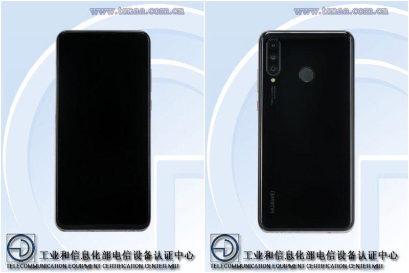 Huawei P30 Lite TENAA-kuvissa.