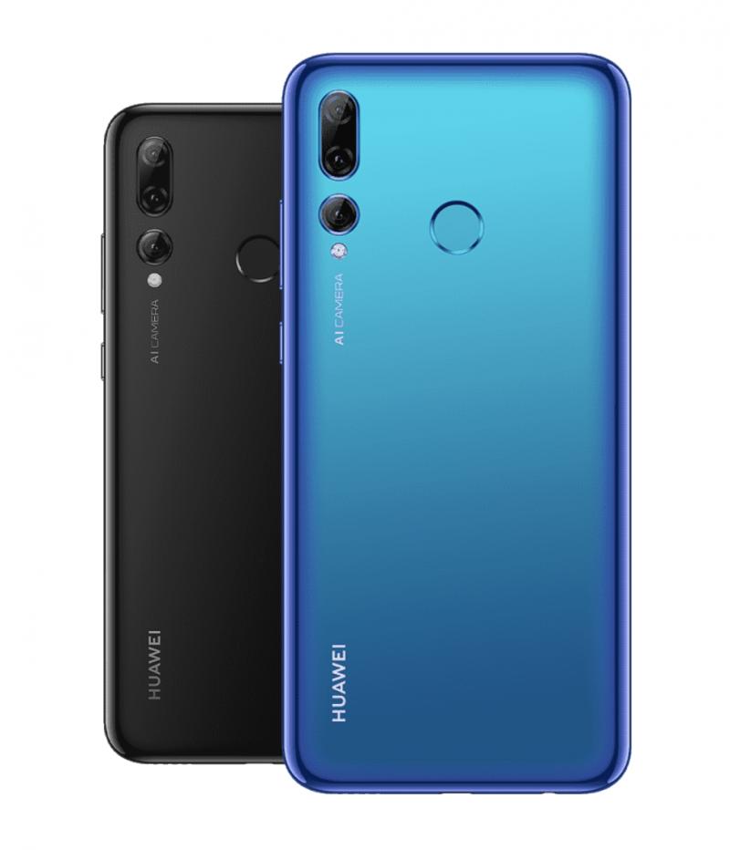 Huawei P Smart+ 2019:n värivaihtoehdot.