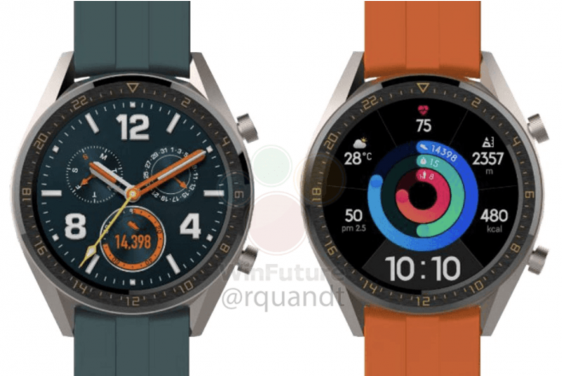 Uusi Huawei Watch GT Active.