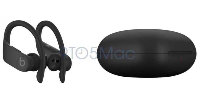 Uudet Powerbeats Pro -kuulokkeet ja niiden latauskotelo. Kuva: 9to5Mac.