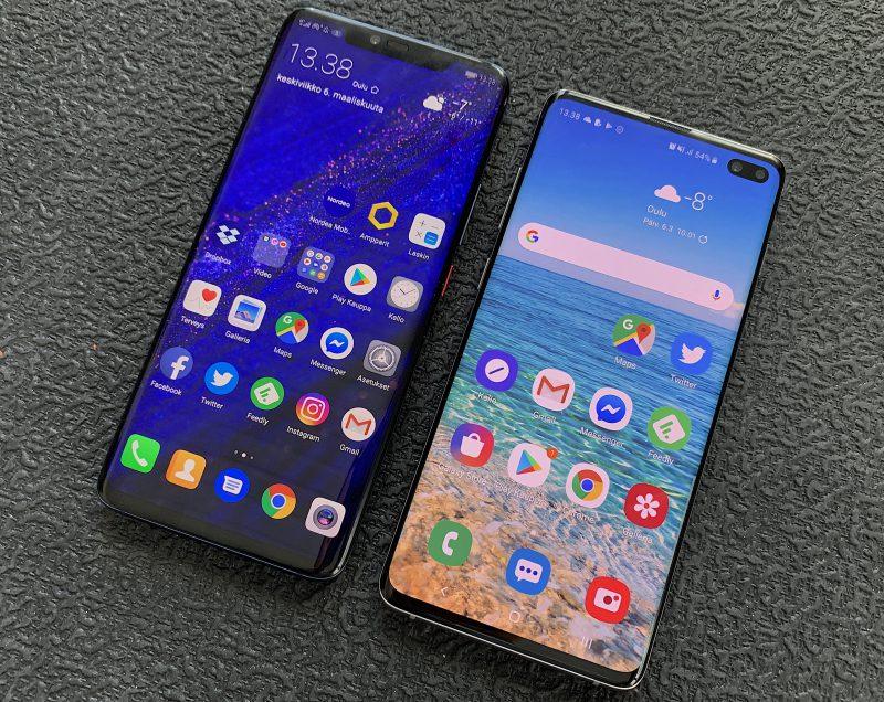 Huawei Mate 20 Pro on todella vahva kilpailija Galaxy S10 -puhelimille.