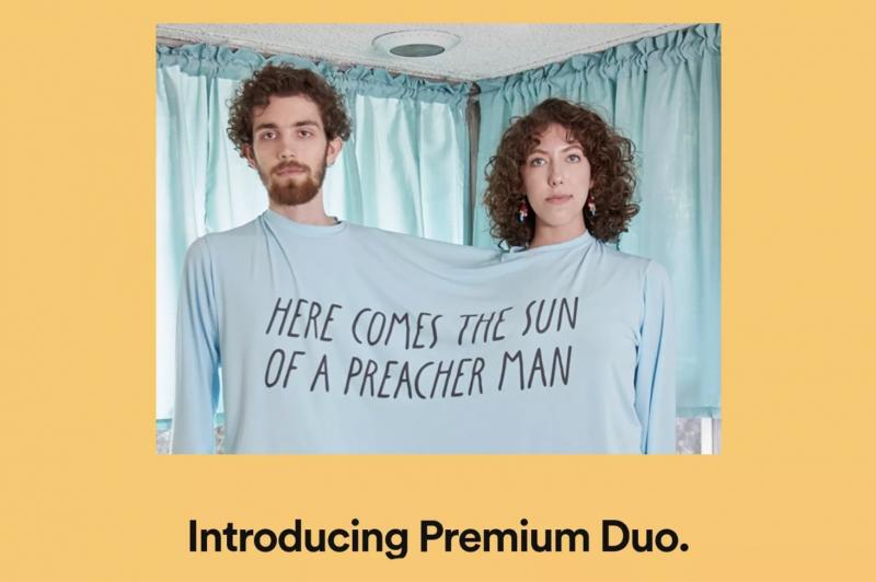 Premium Duo on uusi Spotifyn testaama tilausmuoto.
