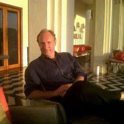 Webin kehittäjä Tim Berners-Lee.