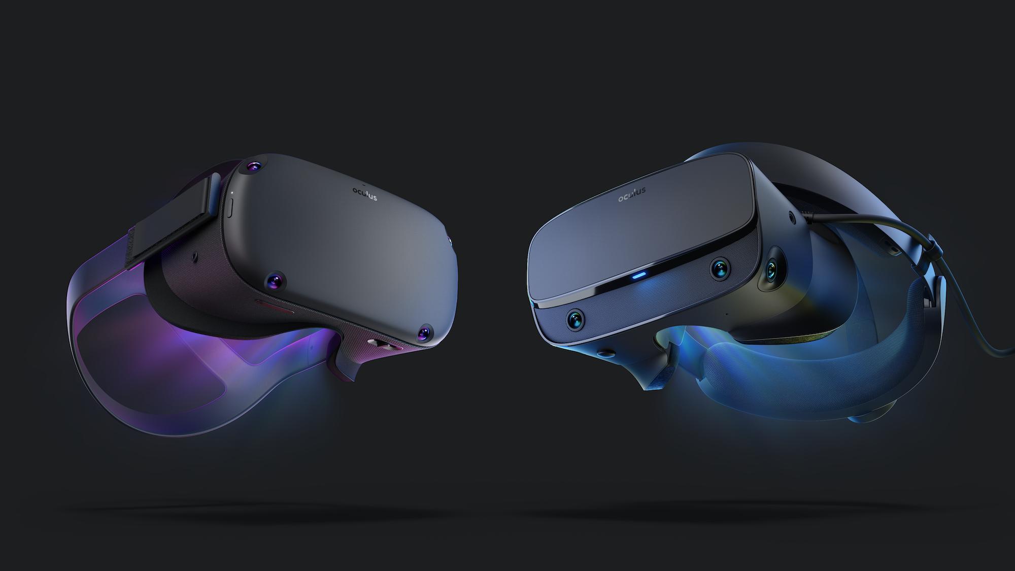 Oculus Quest ja Rift S.