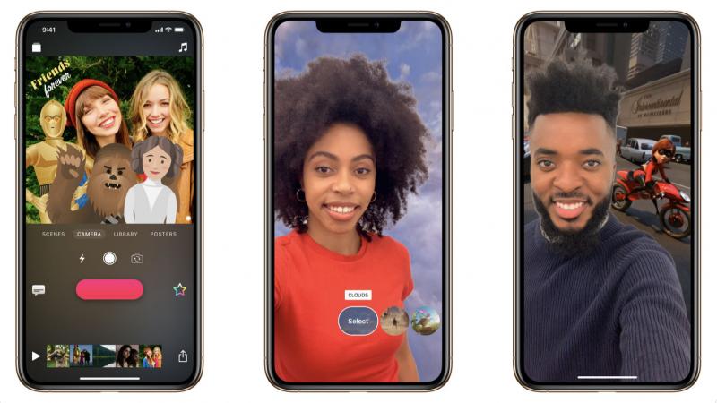 Applen Clips-sovellus on tehty nopeaan videoiden muokkaamiseen.