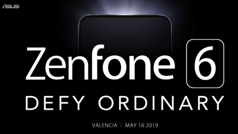 Zenfone 6 -julkistustilaisuus on ohjelmassa 16. toukokuuta.