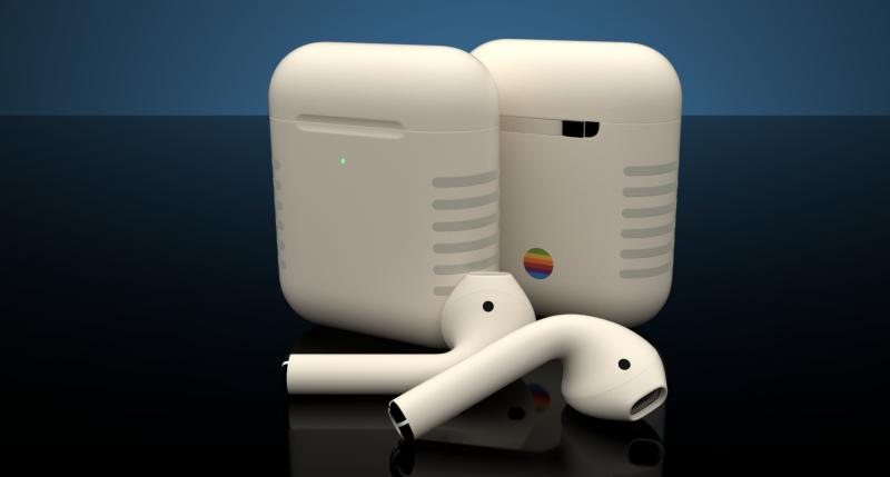 ColorWaren AirPods Retro -kuulokkeet.