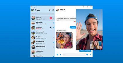 Facebook Messenger -sovellus tulee myös macOS:lle ja Windowsille.