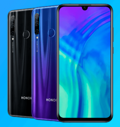 Honor 20 Lite.