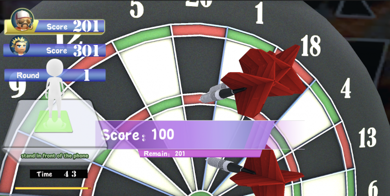 Fancy Darts.