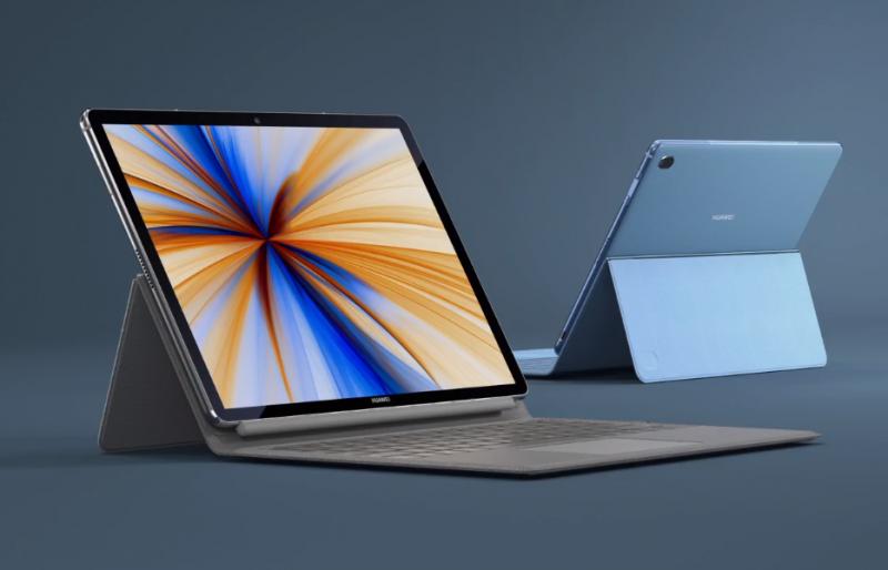 Huawei MateBook E 2019:n värivaihtoehdot.