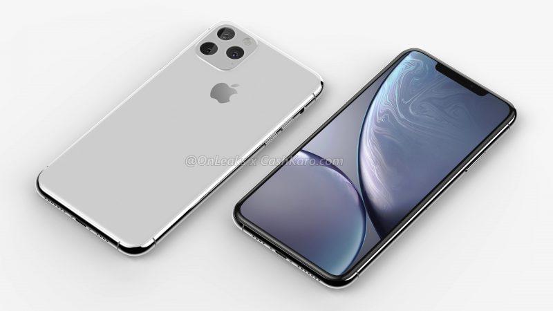 Uusi suurempi iPhone-huippumalli. Kuva: OnLeaks / CashKaro.