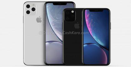 Tulevat iPhone XS ja iPhone XS -mallien seuraajat. Kuva: OnLeaks / CashKaro.