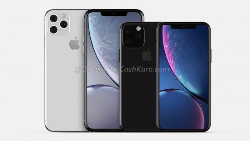 Tältä uudet iPhone-huippumallit suunnilleen näyttävät paljastuneiden suunnittelutiedostojen perusteella. Kuva: OnLeaks / CashKaro.