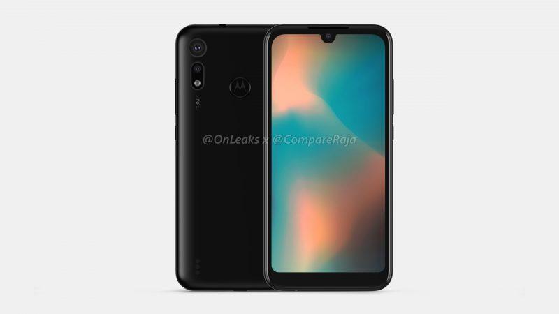 Uusi Motorola-älypuhelin, mahdollinen P40 Play, OnLeaksin yhdessä CompareRaja-sivuston kanssa julkaisemassa mallinnoksessa.