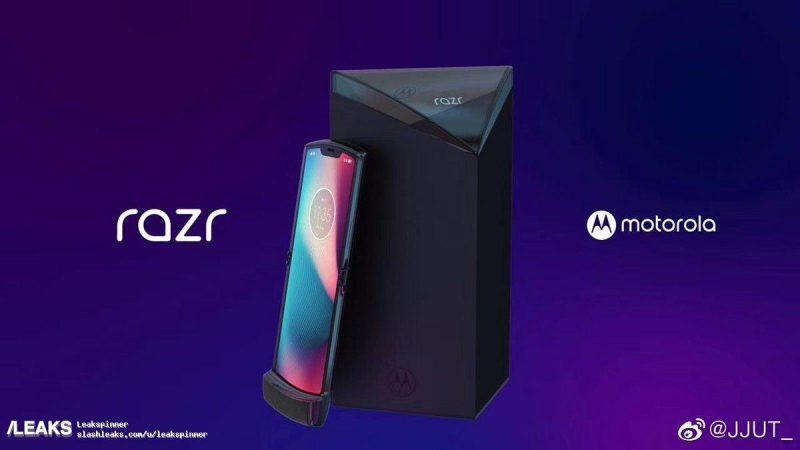 Uusi Motorola Razr on varustettu taittuvalla näytöllä.