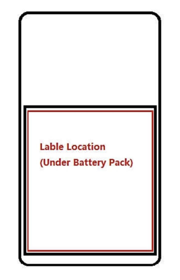 Nokia TA-1184:ssä on irroitettava akku.