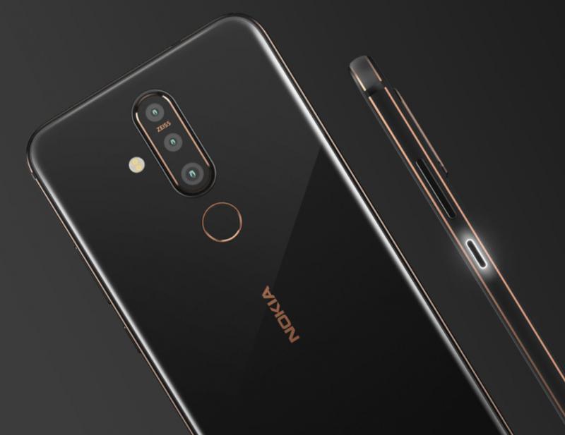 Kyljen virta/lukituspainikkeesta löytyy Nokia X71:ssä ilmoitusvalo.