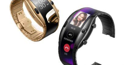 nubia Alpha tulee Euroopassa myyntiin ensin mustana versiona Bluetooth-yhteystuella. Taustalla näkyvä 18 karaatin kullattu versio on jo saatavilla Kiinassa.