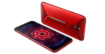 nubia Red Magic 3 punaisena.