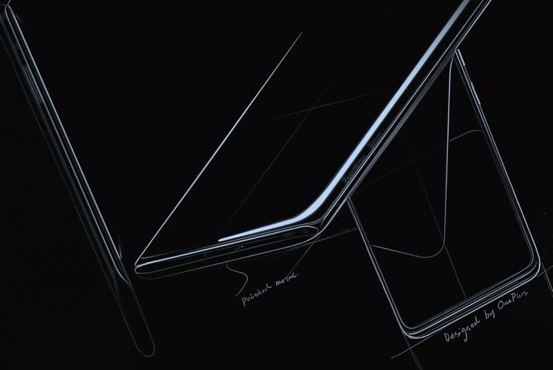Hahmotelma uudesta OnePlus-puhelimesta.