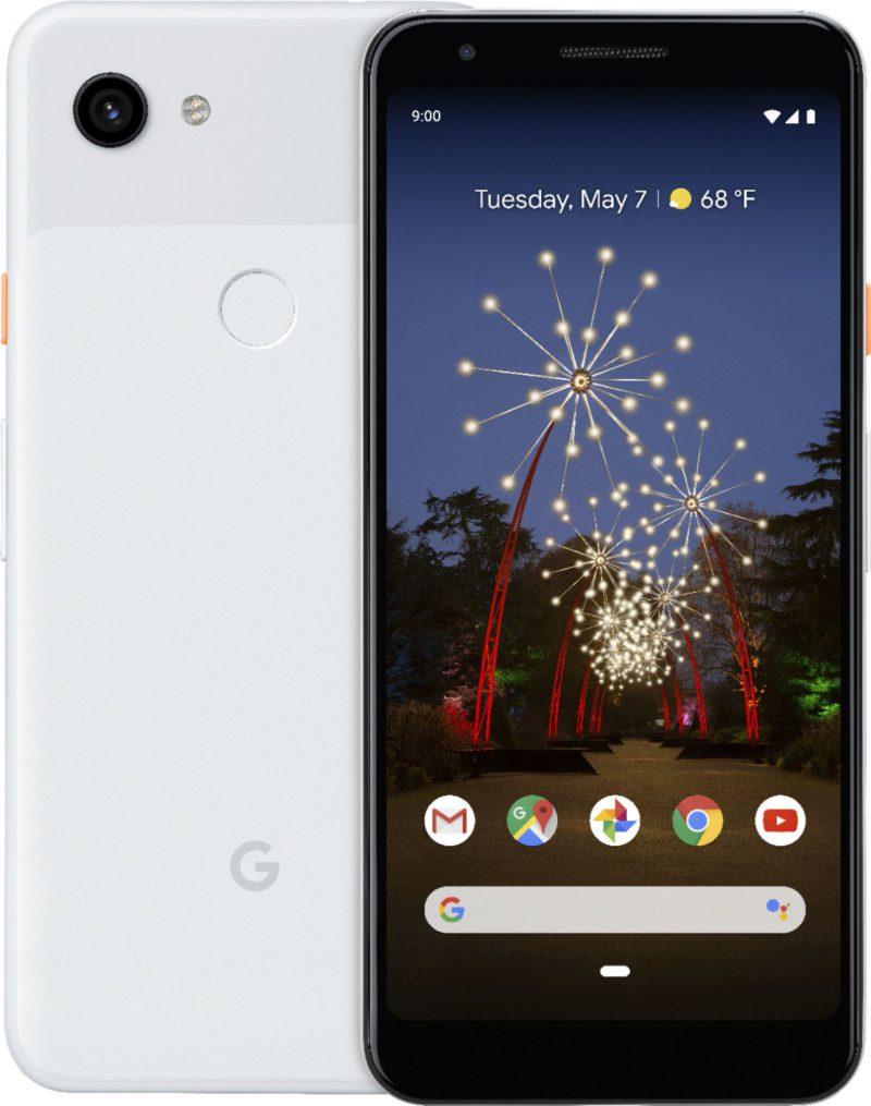Google Pixel 3a. Evan Blassin vuotama virallinen kuva.