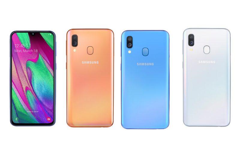Samsung Galaxy A40.