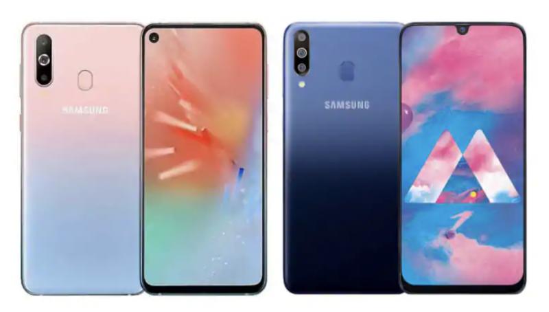 Samsung Galaxy A60 ja Galaxy A40s.