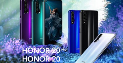 Honor 20 Pro ja Honor 20.