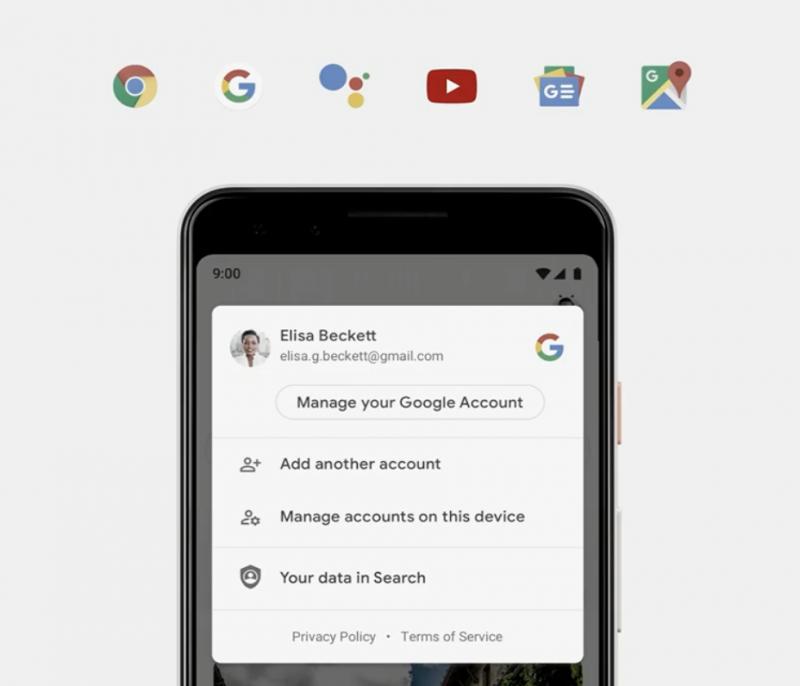 Google tuo moniin palveluihinsa helpon pääsyn profiilikuvan kautta kyseisen palvelun keskeisiin yksityisyysasetuksiin.