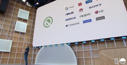 Android Q Beta 3 on saatavilla yhteensä 13 eri valmistajan laitteille Google mukaan lukien.