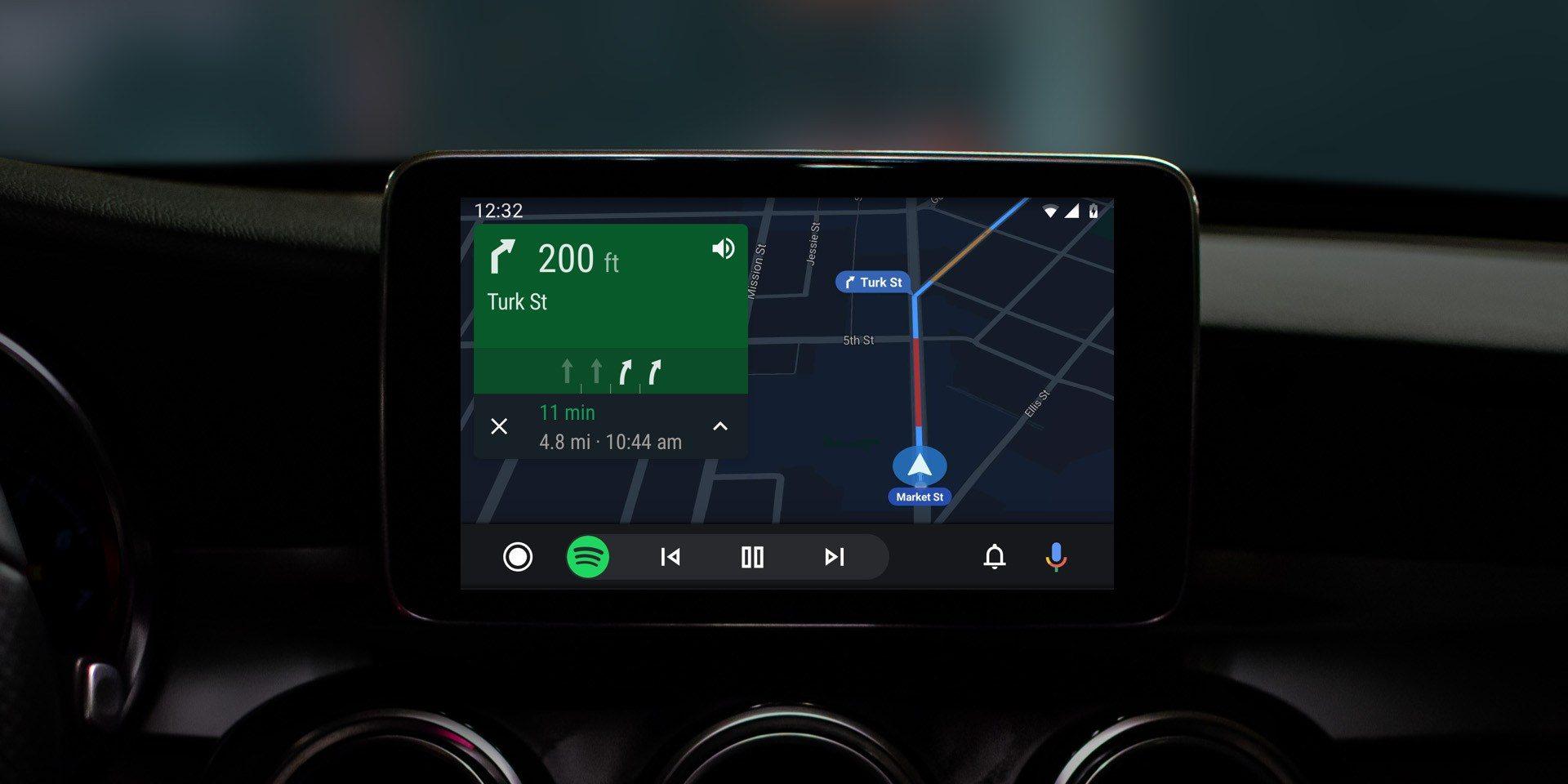 Android Auto Sovellukset