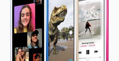 Ryhmä-FaceTime, lisätyn todellisuuden sovellukset sekä suurempi tallennusmuisti vaikkapa offline-tilaan tallennettavalle musiikille ovat uuden iPod touchin uudistuksia.
