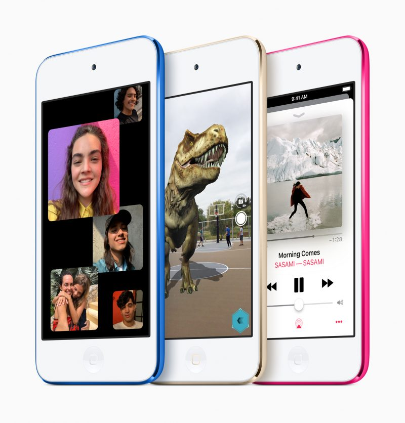 Nykyinen 7. sukupolven iPod touch.