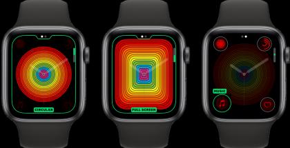 Apple Watchin uusi Pride-kellotaulu on saatavilla myös analogisilla viisareilla.