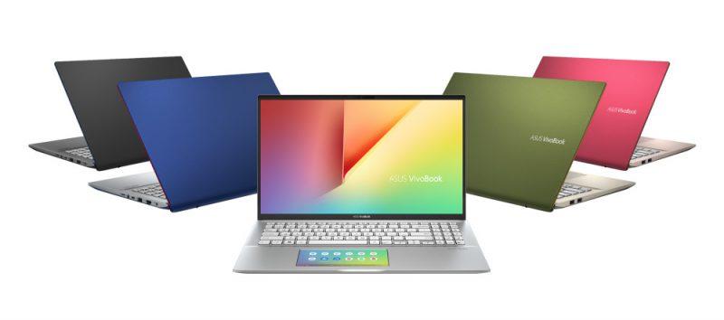 Uusia Asus Vivobook -värejä.