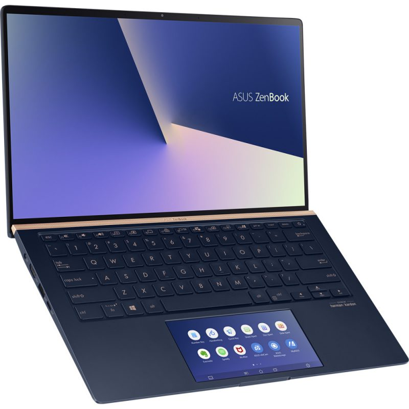 ScreenPad-näytöt tulevat laajemmin ZenBookeihin.