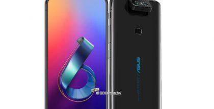 Näin Asus Zenfone 6:n kaksoiskamera kääntyy takaa myös etukameroiksi.