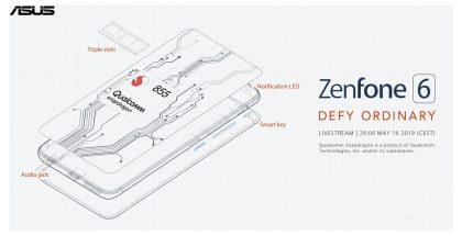 Asus vahvisti jo muutamia Zenfone 6:n ominaisuuksia.