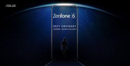 Asus Zenfone 6 -ennakkokuva kertoi etupuolen laajasti kattavasta täysnäytöstä.