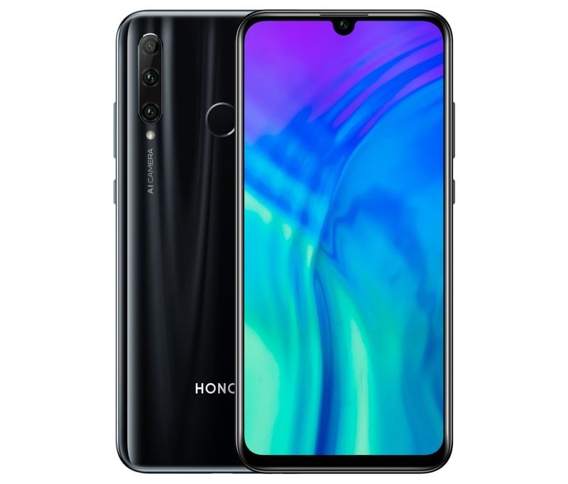 Honor 20 Lite Midnight Black.