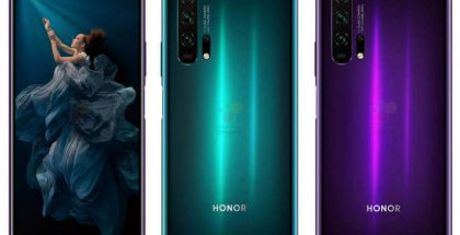 Honor 20 Pro. Kuva: WinFuture.de.