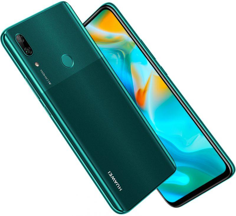Huawei P Smart Z Emerald Green -värissä.
