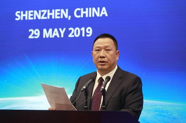 Huawein lakiasiainjohtaja Song Liuping.