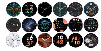 Uusia kellotauluja Huawei Watch GT -kellolle.